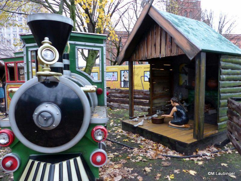 Märchenwelt Aschenputtel mit Eisenbahn